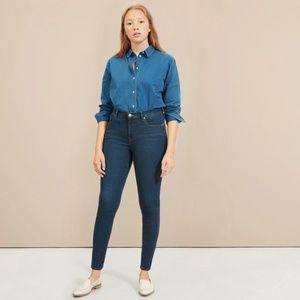Everlane Authentic Stretch Mid-Rise Skinny Jean